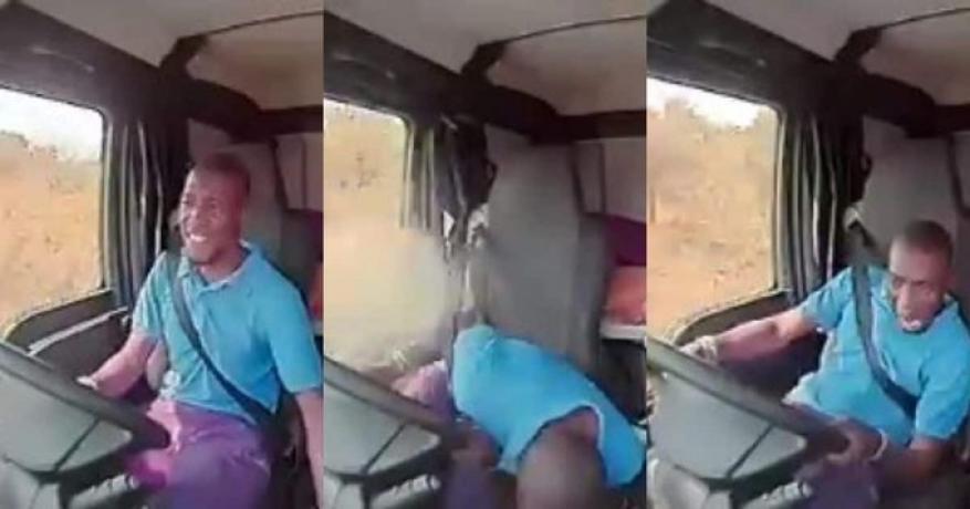 سائق شاحنة ينجو بأعجوبة بعد إطلاق نار عليه من قبل قطاع طرق