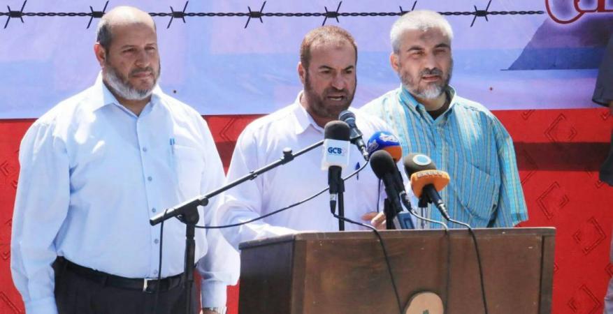 حماد: سنقتلع الاحتلال من أرضنا كما اقتلعناه من غزة