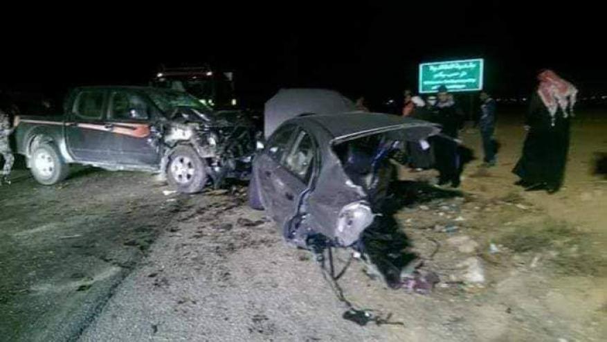 وفاة أب وأم وطفلهما من بجنين بحادث سير بالأردن