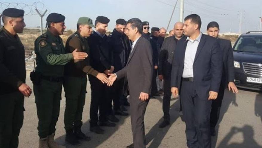 الوفد الأمني المصري يصل غزة.. هذا ما في جعبته