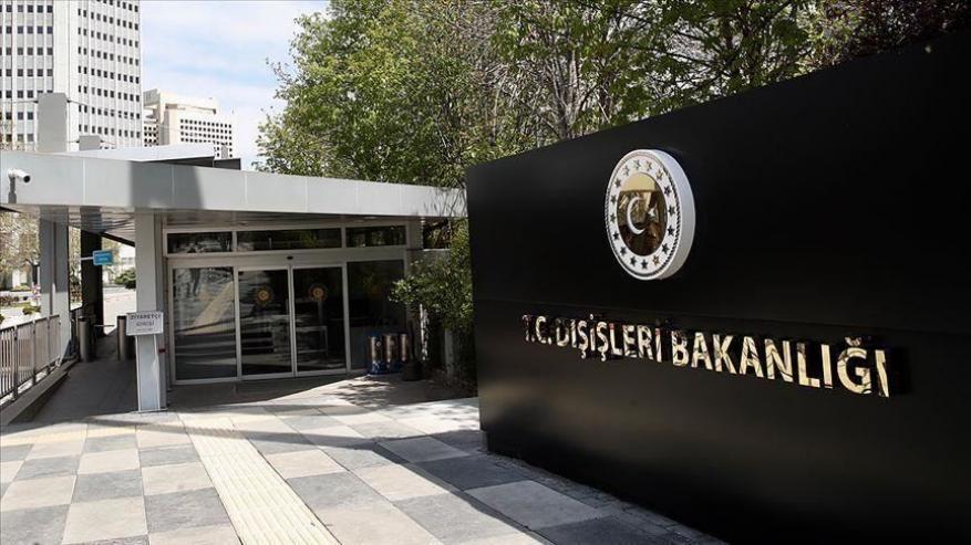 أنقرة تستنكر تصريحات وزير خارجية فرنسا ضد تركيا