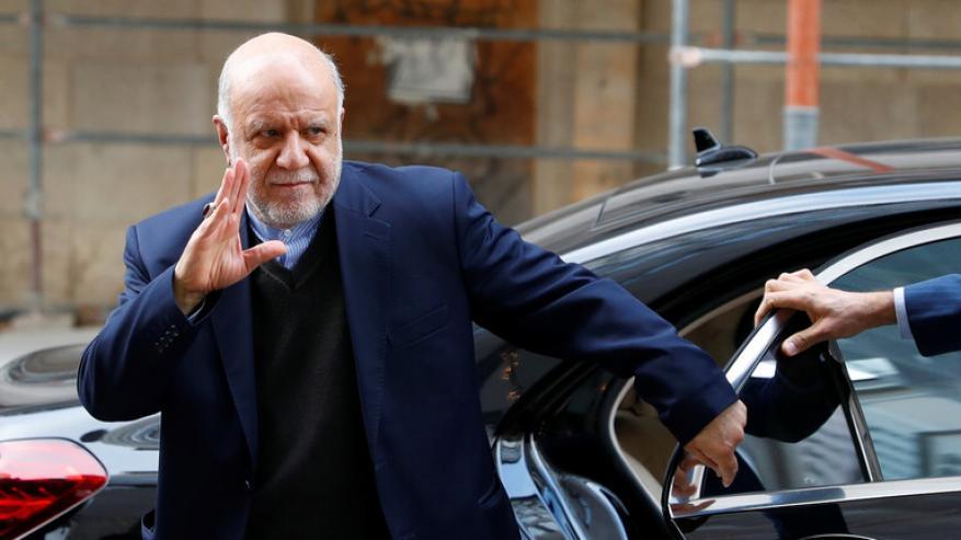 وزير النفط الإيراني: إنتاج النفط تقلص بسبب نقص التمويل