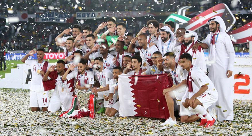 """المشهد الذي حرم قطر من """"إنجاز غير مسبوق"""" خلال النهائي"""