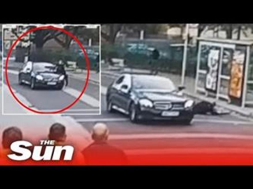 سائق يصدم رجل شرطة حاول إيقافه في لندن