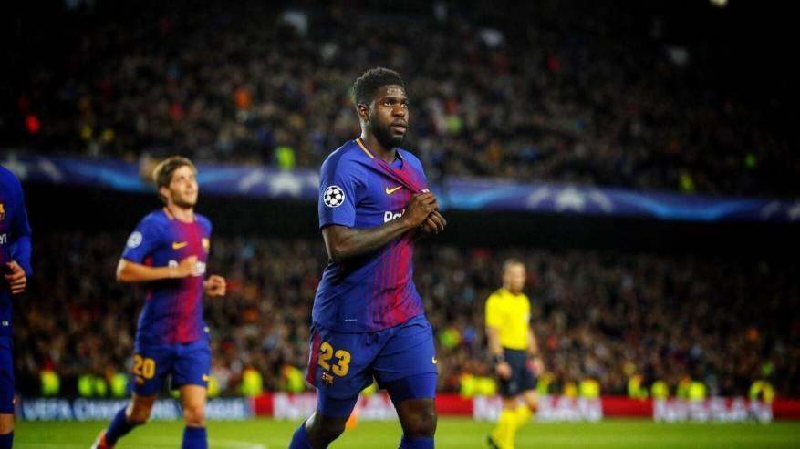 رغم أنباء الرحيل.. أومتيتي يعلن بقائه في برشلونة