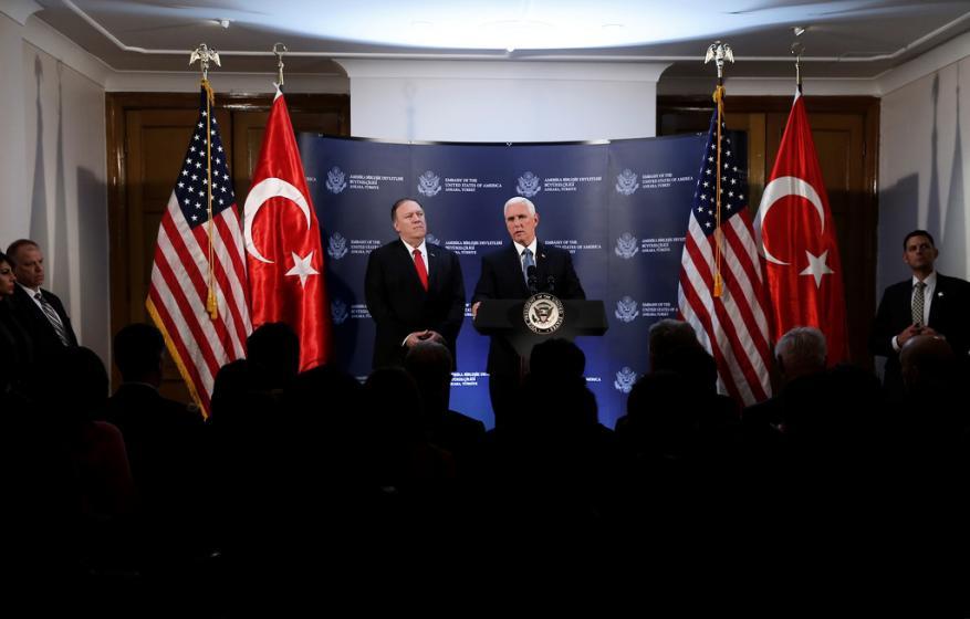 واشنطن تعلن التوصل إلى اتفاق مع تركيا حول وقف لإطلاق النار في سوريا