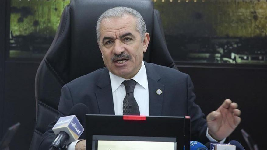 اشتية يطالب سلطات الاحتلال بالإفراج الفوري عن وزير شؤون القدس