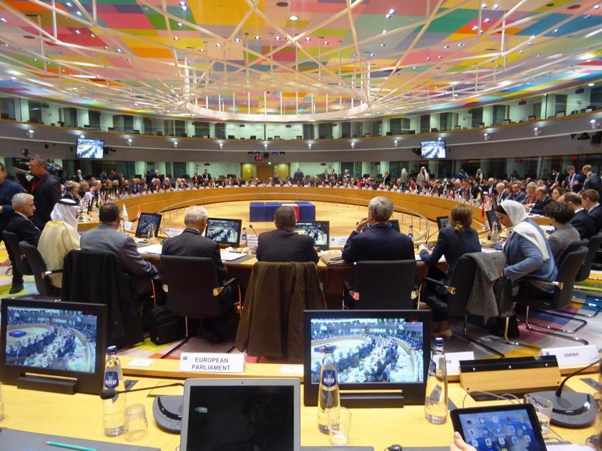 مؤتمر بروكسل لتبييض السياسات الإسرائيلية