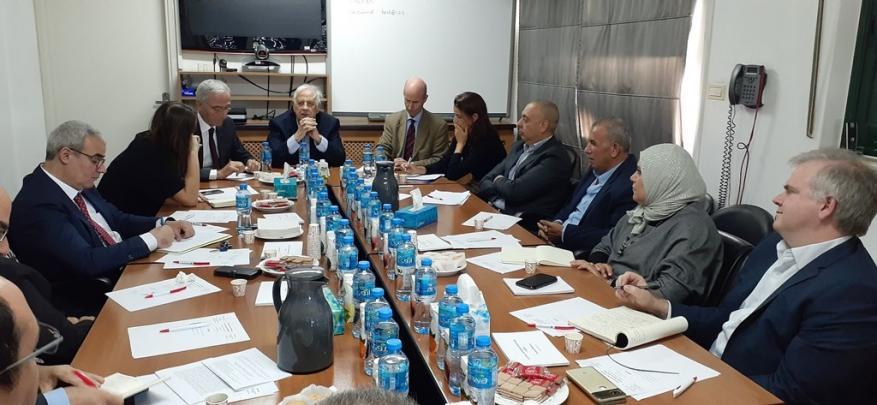 حنا ناصر: الانتخابات ستتم بوجود مراقبين محليين ودوليين