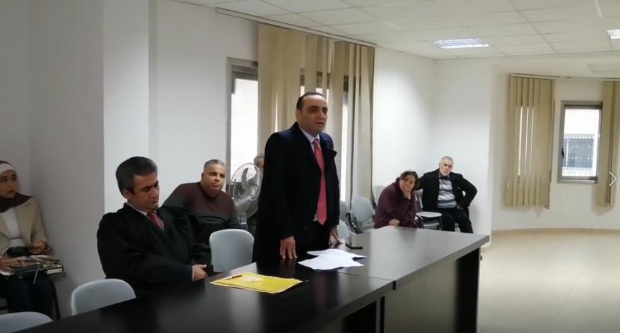 تواصل محاكمة القاضي أحمد الأشقر بسبب مقالة عن فساد حكومة الحمدالله
