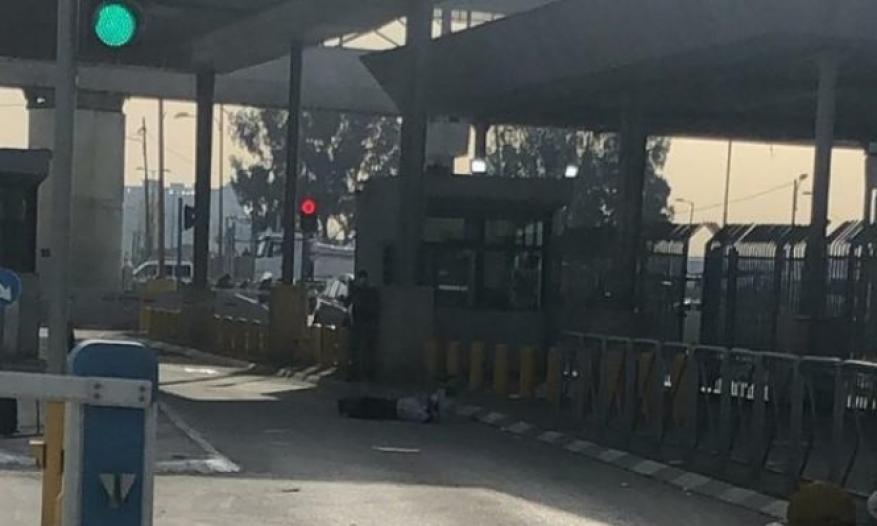 إصابة فلسطيني بادعاء تنفيذ عملية طعن شمال القدس