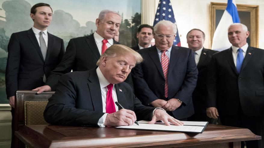 """ترجيحات إسرائيلية بعدم إعلان واشنطن لـ""""صفقة القرن"""" قريبًا"""