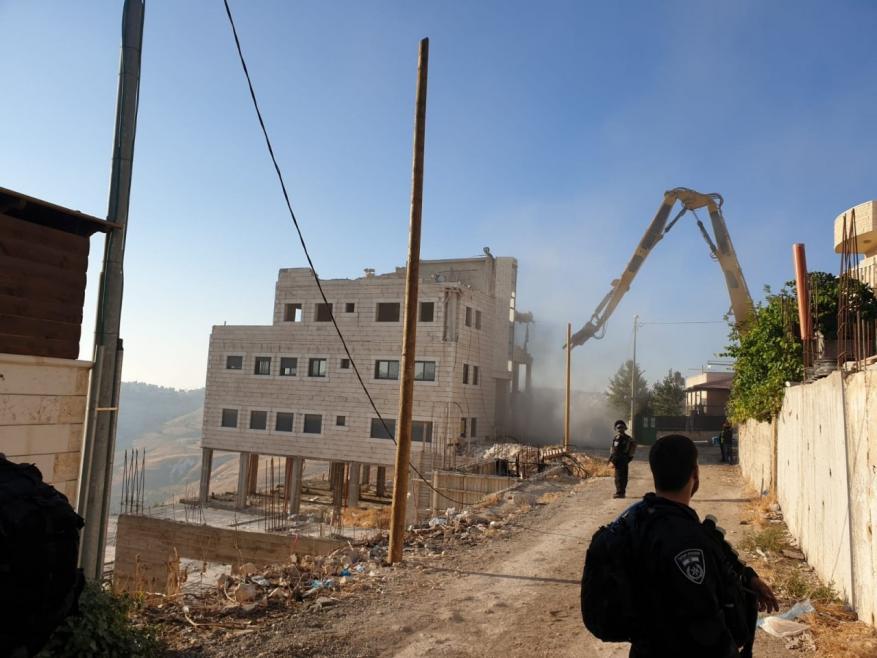 قرار بإخلاء بناية عائلة الرجبي في سلوان لصالح المستوطنين