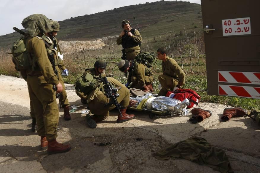 إصابة جندي إسرائيلي بجراح خلال تدريبات عسكرية