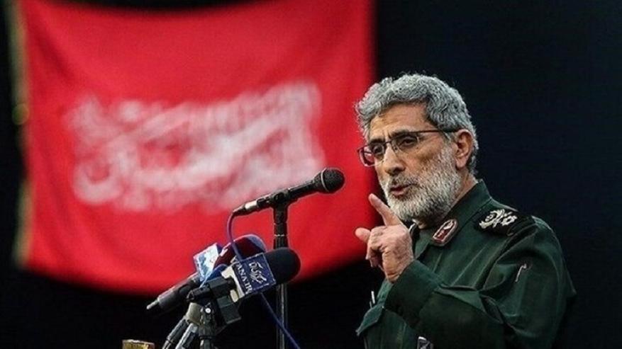 قائد فيلق القدس: العدو لا يمتلك القدرة على خوض الحرب وجها لوجه مع إيران