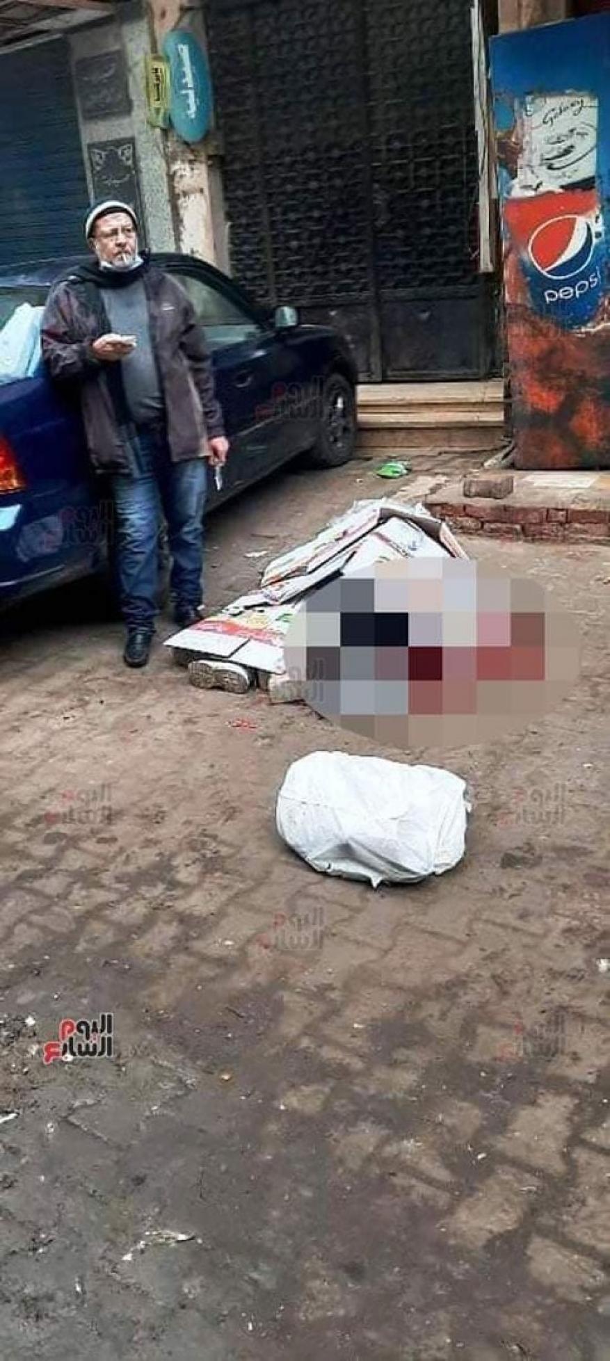 """تفاصيل """"جريمة كورونا"""" بحق مدرسة مصرية: قتل زوجته ووقف يدخن سيجارة بانتظار الشرطة"""
