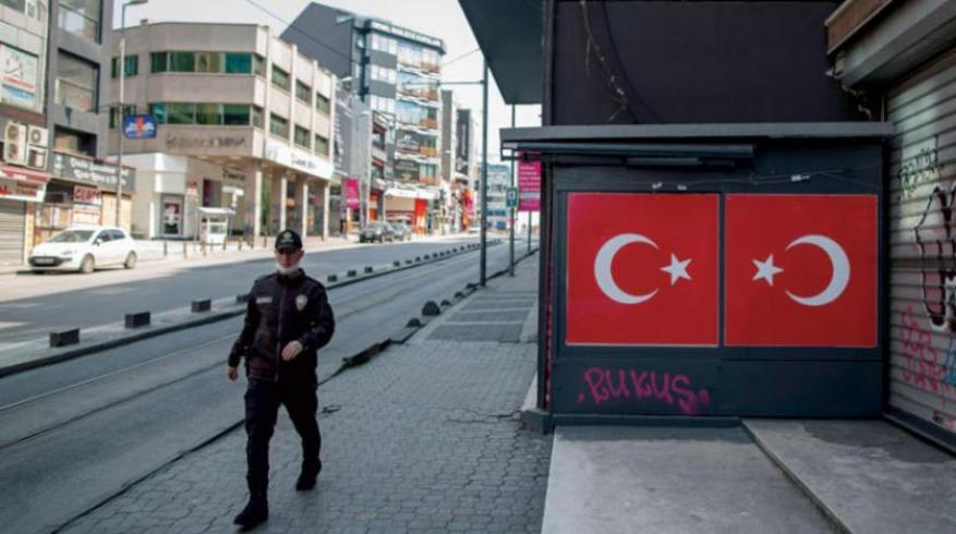 بدء حظر تجوال جزئي بتركيا يشمل العيد