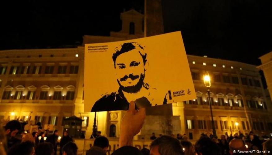 روما تتهم 4 عملاء مصريين تابعين للأجهزة الأمنية بقتل ريجيني