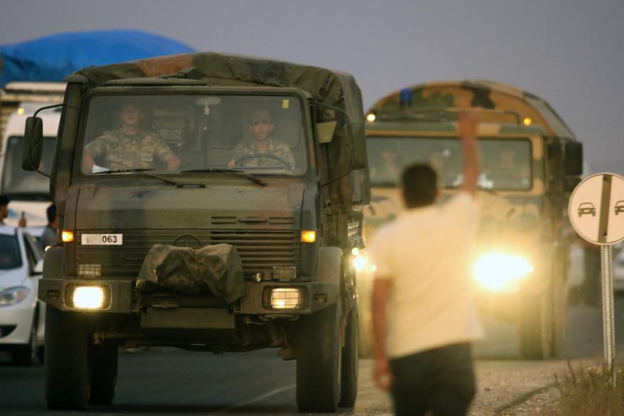 """عملية """"نبع السلام"""".. القوات التركية تقصف 181 هدفا وأنباء عن قتلى وعشرات الجرحى"""