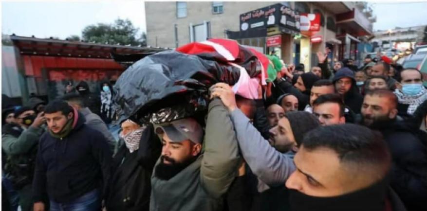 فيديو .. تشييع جثمان الشهيد داوود الخطيب في بيت لحم