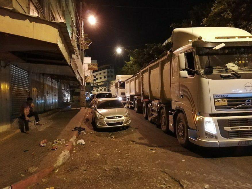 بسبب رسوم النفايات.. بلدية جنين تغلق سوق الخضار