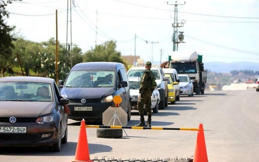 إغلاق محافظة نابلس لمدة خمسة أيام بدءا من مساء اليوم