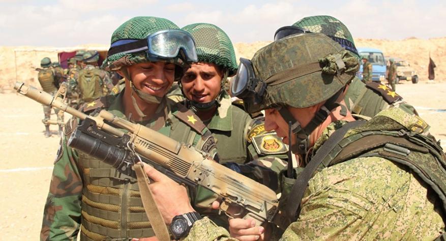 موسكو تعلن عن تدريبات عسكرية مشتركة مع مصر