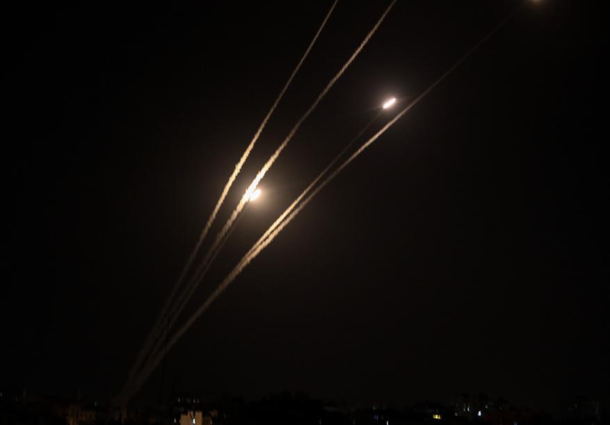 جيش الاحتلال يرصد إطلاق 3 صواريخ من غزة