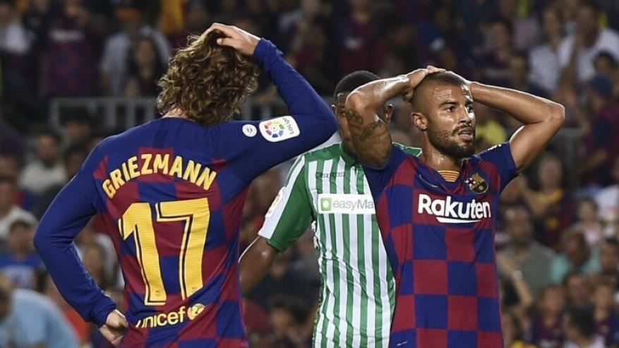 برشلونة يعلن إعارة رافينيا