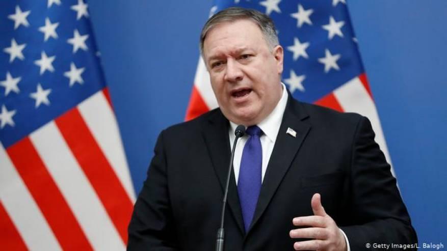 بومبيو: الولايات المتحدة لم تعط الضوء الأخضر لتركيا لشن عملية عسكرية في سوريا