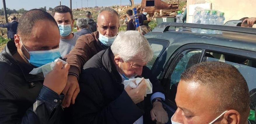 بينهم العالول.. إصابة 32 مواطناً خلال قمع الاحتلال مسيرة منددة بالاستيطان في سلفيت