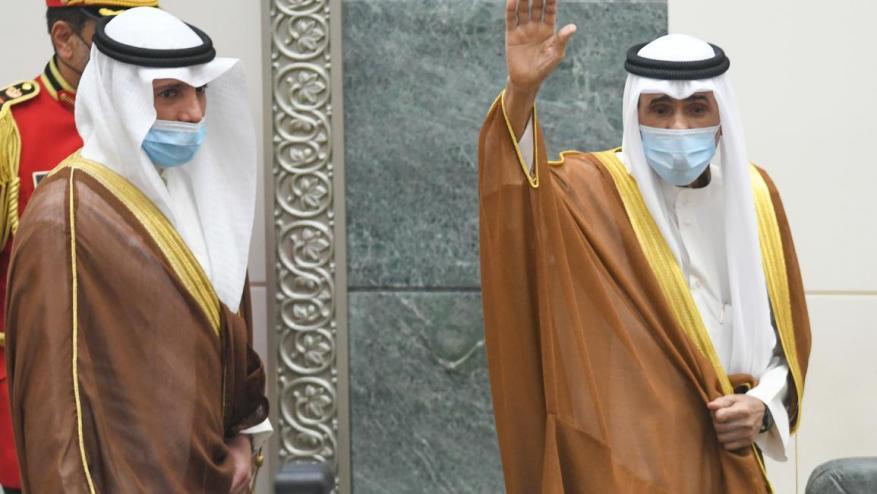 أمير الكويت: نتمسك بالديمقراطية والقضية الفلسطينية وحل الأزمة الخليجية