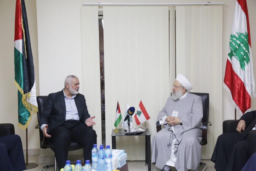 هنية يدين إسقاط الجامعة العربية لمشروع قرار يرفض التطبيع