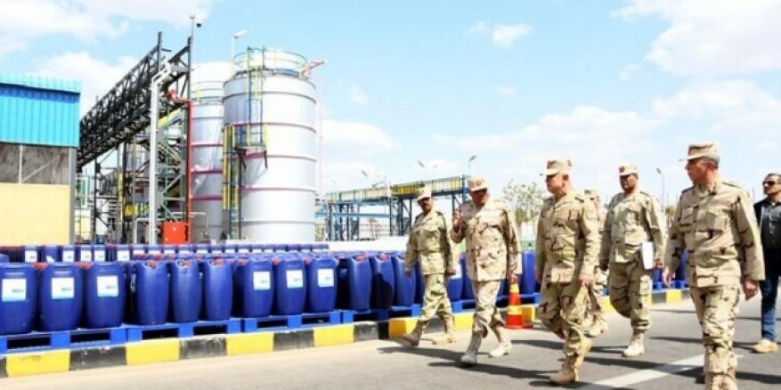 الجيش المصري يعلن توفير مطهرات ومواد تعقيم لمكافحة كورونا بأمر من السيسي