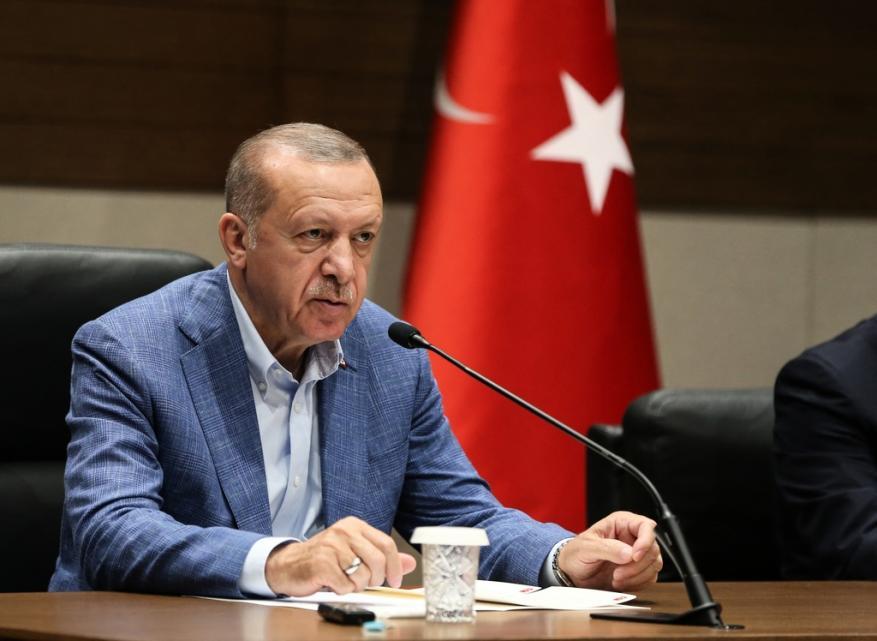 أردوغان: نرفض الجهود الرامية لفرض أمر واقع جديد في القدس