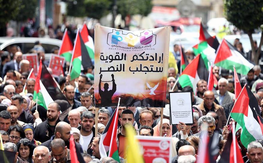 القوى الوطنية تدعو لأوسع مشاركة في المسيرات التضامنية مع الأسرى غدًا