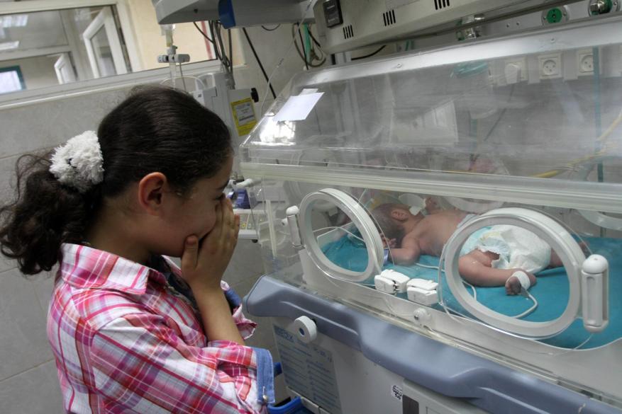 إحصائية: 4495 مولود جديد في غزة خلال يناير