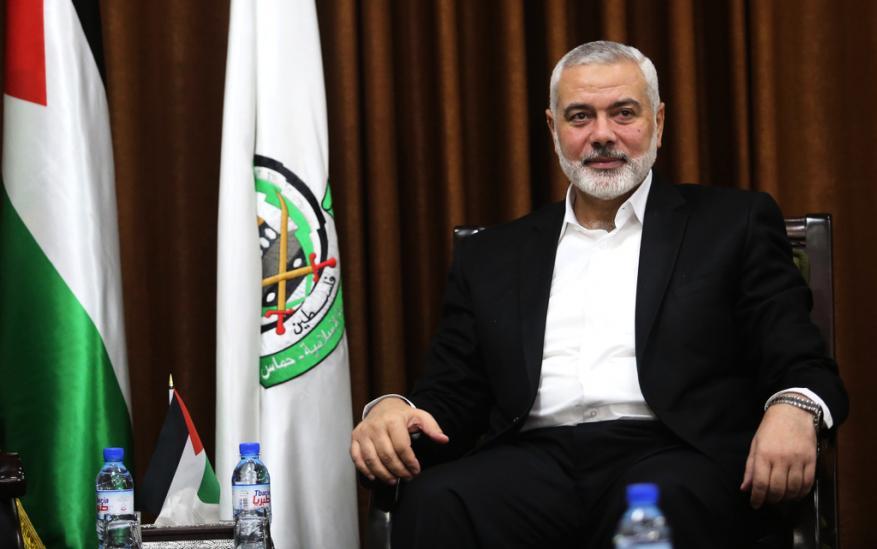 هنية يبحث مع قيادة الجبهة الشعبية الوحدة الفلسطينية