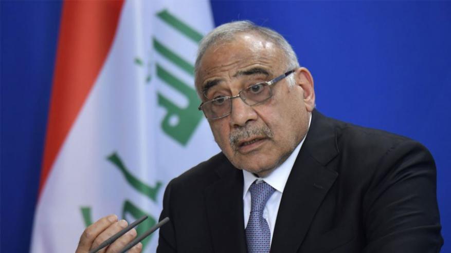 عبد المهدي: استقالتي مهمة لتفكيك الأزمة في العراق وعلى البرلمان اختيار البديل سريعًا