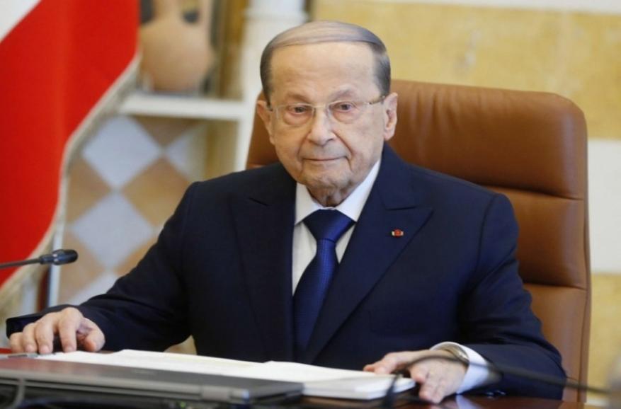 """عون:""""إسرائيل"""" تخترق القانون الدولي بانتهاك سيادة لبنان"""
