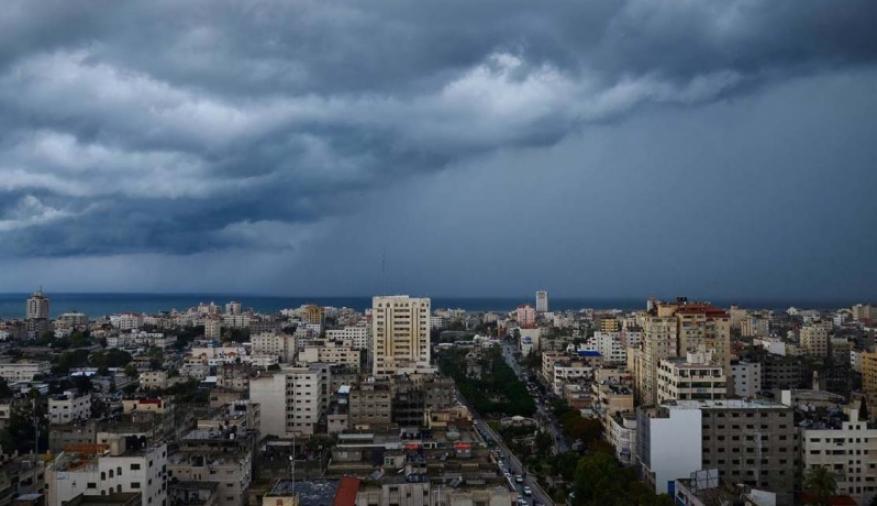 تفاصيل المنخفض الجوي الذي يؤثر على فلسطين مساء اليوم