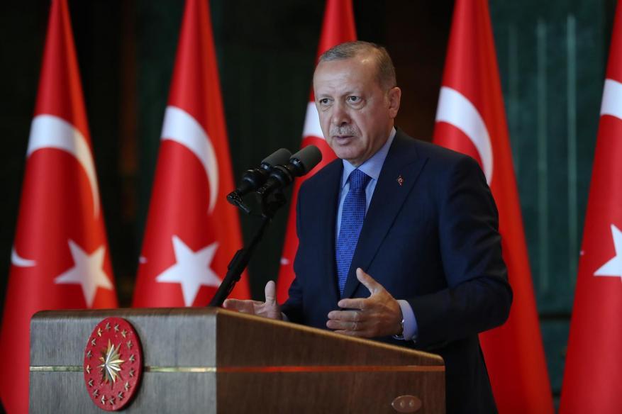 شكر الأمير تميم.. أردوغان يفتتح قاعدة للصناعات الدفاعية بتعاون قطري
