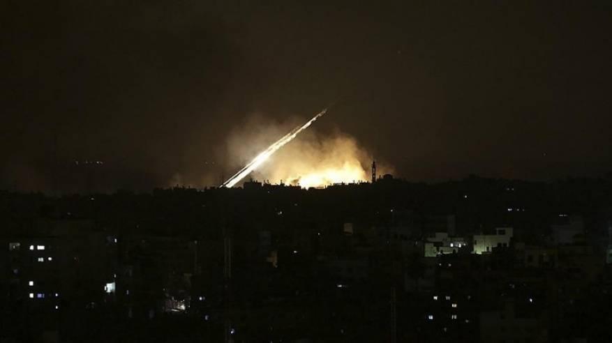 الاحتلال يقصف تل الحارة في ريف درعا السورية