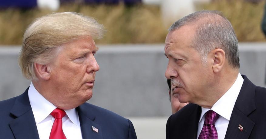 ترامب يهدد بتدمير اقتصاد تركيا إذا هاجمت الأكراد بسوريا