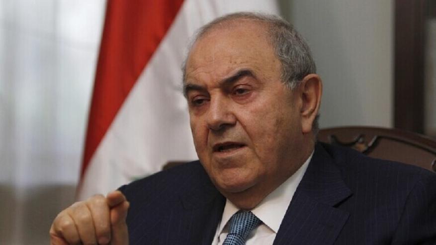 علاوي محذرا إيران: لن تستطيعوا تحقيق أحلامكم التوسعية في العراق والمنطقة العربية