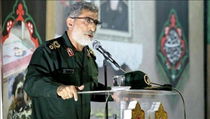 """مصادر عراقية: قائد """"فيلق القدس"""" الإيراني زار بغداد سرا"""