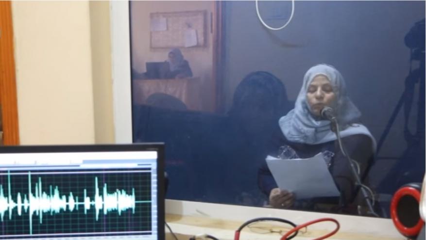 """تقليصات """"أونروا"""" تهدد بإغلاق إذاعة لـ""""ذوي الإعاقة"""" بغزة"""