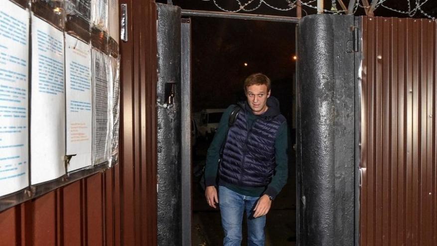 """الاتحاد الأوروبي يدعو روسيا لإطلاق سراح المعارض """"نافالني"""""""