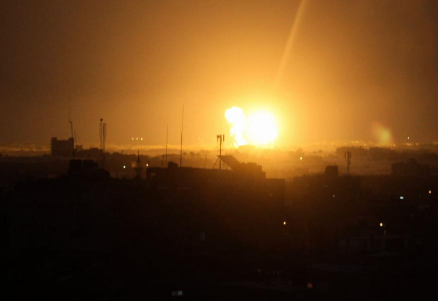 غارات للاحتلال على قطاع غزة