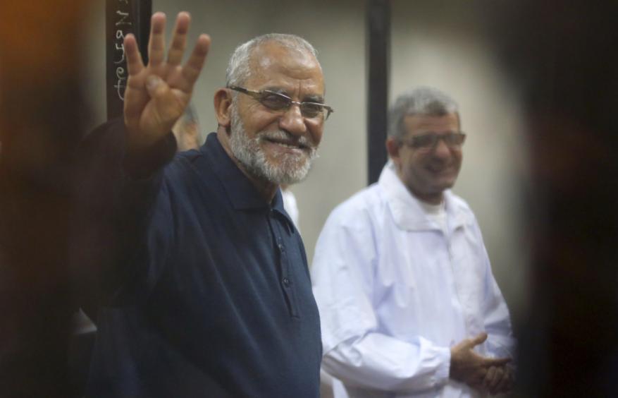 السيسي يصدر حكما نهائيا بالمؤبد في حق مرشد الإخوان المسلمين